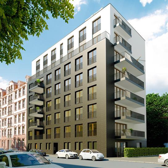 Umbauprojekt Oberlindau 80, Frankfurt Westend