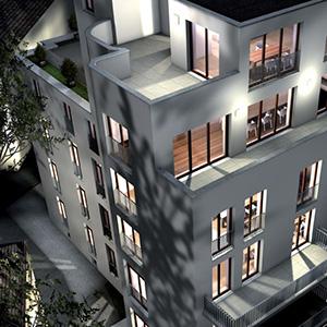 Wohngebäude Bettinastraße 64,  Frankfurt-Westend
