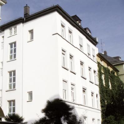 Umbauprojekt Frankfurt-Holzhausenviertel,  Baustraße 14