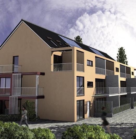 Neubauprojekt Frankfurt Bornheim,  Berger Straße 334